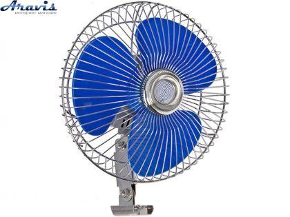 """Автомобильный вентилятор 12 вольт 6"""" Vitol ВН.12.603 для авто"""