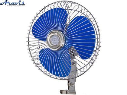 """Автомобильный вентилятор 12 вольт 8"""" Vitol ВН.12.805 для авто"""