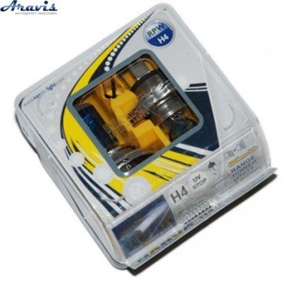 Галогенка H4 NARVA 12V 100/90W 98513 RANGE POWER WHITE