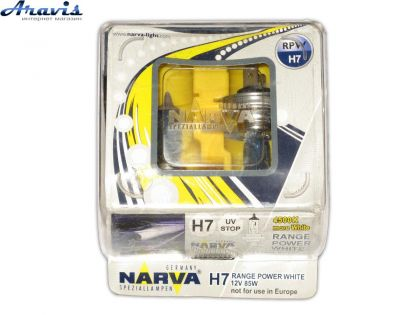 Галогенка H7 NARVA 12V 85W 98519 Range Power