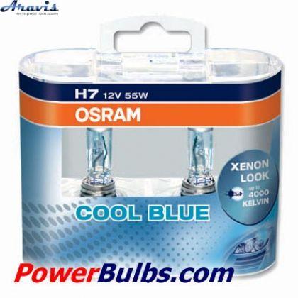 Галогенка H7 OSRAM 12V 55W 64210CB Cool Blue