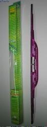 """Дворники для авто щетки стеклоочистителей алюминиевые со спойлером 508-20"""" фиолет."""