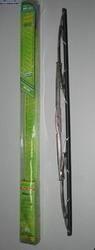 """Дворники для авто щетки стеклоочистителей алюминиевые со спойлером 559-22"""" хром."""