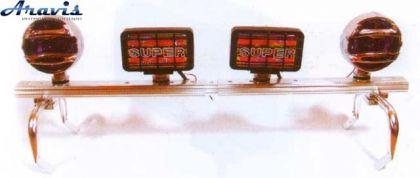 Держатель фар на крышу YZ-5770/W-159 (алюминий)