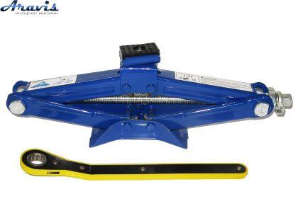 Домкрат механический ромбовидный Vitol ДВ-Т01015В 1,5т 390мм с трещеткой