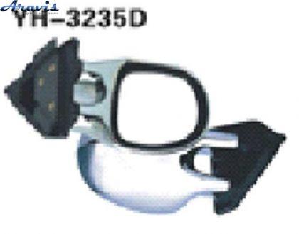 Боковые зеркала универсальные хром 3252A