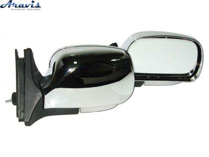 Боковые зеркала на ВАЗ 2107хром с повторителем KL-2107