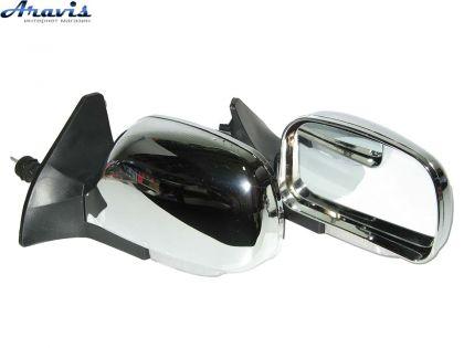 Боковые зеркала на ВАЗ 2109 хромированные с повторителем KL-2109L