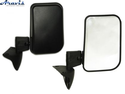 Боковые зеркала на ВАЗ 2121 Нива черные ЗБ-3220 Niva