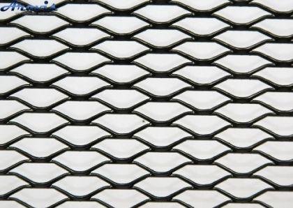 Алюминевая сетка А 31023-А30 BK (100х33) просечка малая черная