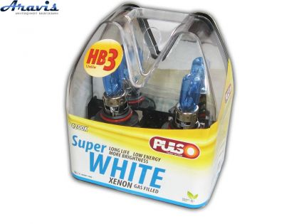 Галогенка HB3 PULSO 9005 12V 65W LP-95651 super white/plastic box
