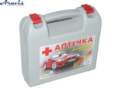 Аптечка АВТО ПРОФИ с охлажд. контейнером 23 позиции