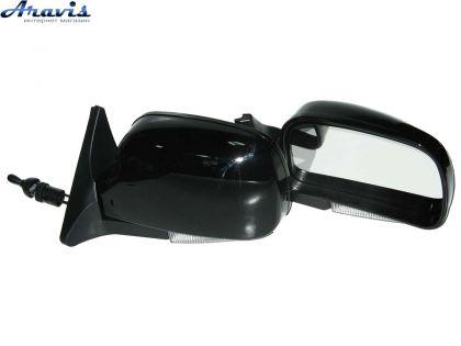 Боковые зеркала на ВАЗ 2107 черные с повторителем YH-3107A