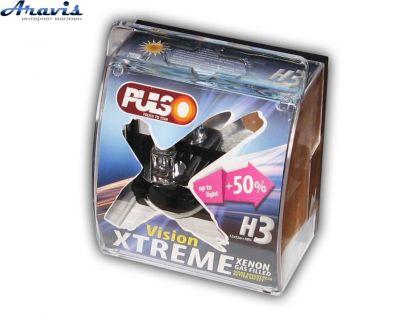 Галогенка H3 PULSO 12V 55W +50% LP-32553 X-treme Vision/plastic box