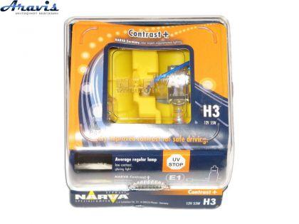 Галогенка H3 NARVA 12V 55W 98653 Contrast+Ry