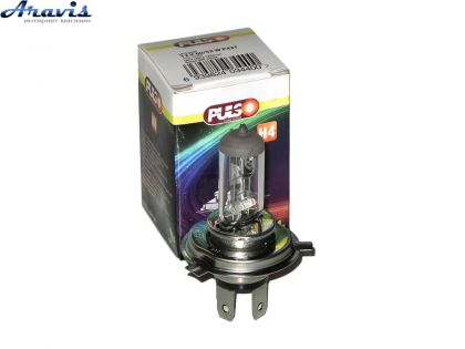 Галогенка H4 PULSO 12V 60/55W LP-41650 clear/box