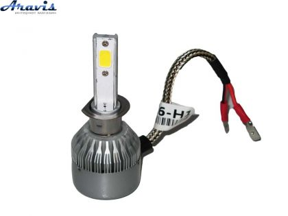 Светодиодные лампы H11 PULSO С6/LED PGJ19-2/2*280°COB/12-24v36w/3800Lm/4300K