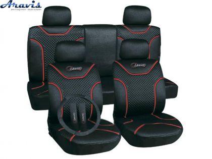 Чехлы на передние сиденья  MILEX Classic 2шт черные