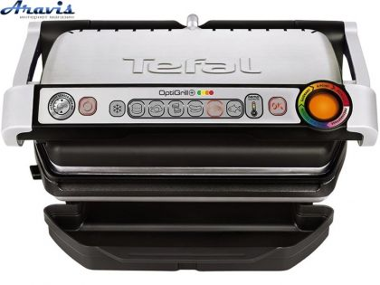 Электрогриль TEFAL GC712D Optigrill Plus