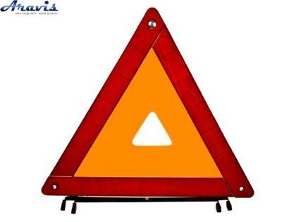 Знак аварийной остановки ЗА-002 усиленный в пластиковом футляре
