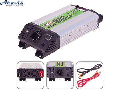 Инвертор PULSO IMU-820 12V-220V 800W USB 2.0A