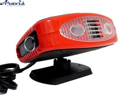 Тепловентилятор автомобильный керамический 150W Elegant 101507 с подсветкой
