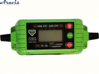 Зарядное устройство для автомобильного аккумулятора Armer ARM-SC6E импульсное