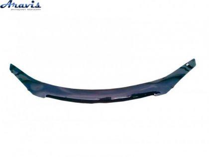 Дефлектор капота мухобойка Hyundai Accent 10-14 Solaris длинная VIP